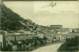 FOSSOMBRONE ( PESARO ) PONTE SUL METAURO - EDIZIONE ALTEROCCA - SPEDITA 1903 ( 4954) - Pesaro
