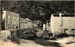 CPA Mas-Cabardes - Vieux Pont Dans Le Village (112896) - Other Municipalities
