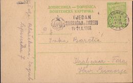 JUGOSLAVIA - TRAFIC WEEK  Mashine Postmark - Zagreb - 1956 - Altri (Terra)