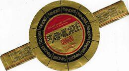 ETIQUETTE    DE  FROMAGE     NEUVE   11 Cm ST ANDRE SOULIE VILLEFRANCHE DE ROUERGUE - Cheese