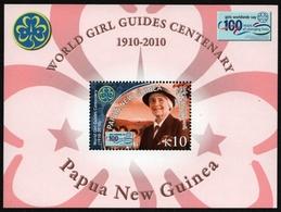 Papua-Neuguinea 2010 - Mi-Nr. Block 106 ** - MNH - Pfadfinder / Scouts - Papua-Neuguinea