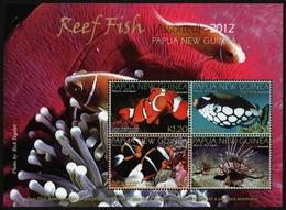 Papua-Neuguinea 2012 - Mi-Nr. 1761-1764 ** - MNH - Fische / Fish - Papua-Neuguinea