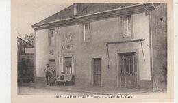 CPA  AUMONTZEY CAFE DE LA GARE - Frankreich
