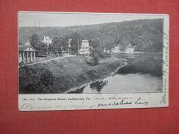 Private Mailing Card  The Delaware House Lackawaxen  Pennsylvania       Ref 4330 - Stati Uniti