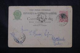 BRÉSIL - Entier Postal De Sao Paulo En 1901 Pour L 'Allemagne - L 70291 - Enteros Postales