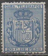 CUBA __ N°76 __OBL VOIR SCAN - Telegraphenmarken