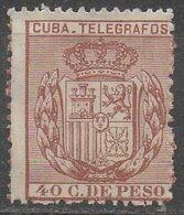 CUBA __ N°68__OBL VOIR SCAN - Telegraphenmarken