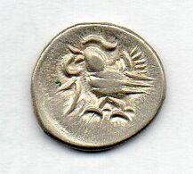 CAMBODIA, 1/8 Tical (1 Fuang), Billon, Year 1208 (1847), KM #32.2, UNIFACE - Cambogia