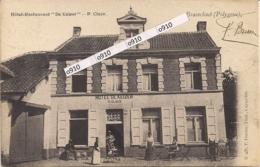 """BRASSCHAET-BRASSCHAAT -POLYGONE"""" HOTEL RESTAURANT DE KEIZER-P.CLAES"""" HOELEN N°436 UITGIFTE 04.07.1902  TYPE 2 - Brasschaat"""