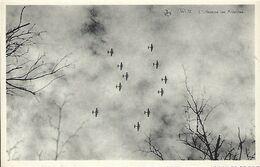 Luxembourg -  Ansichtkarten   WILTZ  -  Offensive Des Ardennes - Survol De Bombardiers Alliés  - Edit.Tony Mander  Wiltz - Wiltz