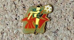 Pin's Football AMIENS SC (80) - Verni époxy - Fabricant STARPIN'S Paris - Football