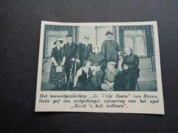 """Origineel Knipsel ( 6345 ) Uit Tijdschrift """"  De Stad """" 1936 :  Herenthals  Herentals - Unclassified"""