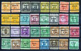 U.S.A. -  32 PRECANCELS  - Selection Nr 392 - Precancels
