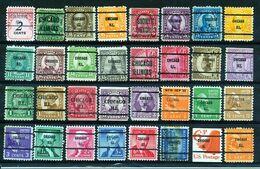 U.S.A. -  32 PRECANCELS  - Selection Nr 393 - Precancels