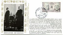 Thème Général De Gaulle - BT MONTIGNY LE BRETONNEUX - 15 Septembre 1990 - Y 485 - De Gaulle (Generale)
