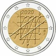 Finland 2020    2 Euro Commemo  Universiteit Van Tartu    ZELDZAAM - RARE !!!!    UNC Uit De Rol  UNC Du Rouleaux !! - Finlandía