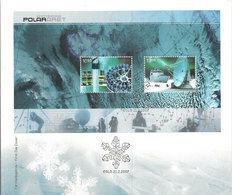 Norway Norge 2007 Polar Year, Mi  Bloc 34 FDC - Norwegen