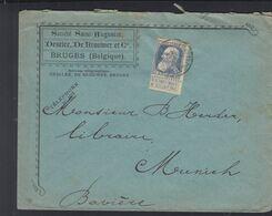 Belgien Brief Societe  Saint Augustin - Postdocumenten