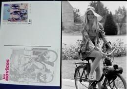 Brigitte Bardot  Solex Velosolex LES NOVICES  Carte Postale Postcard NEUVE Art Postal - Motorfietsen