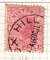 PIA - VICTORIA  - Confederazione Australiana - 1901-04 : Regina Vittoria  -   (Yv  128 ) - Oceania (Other)