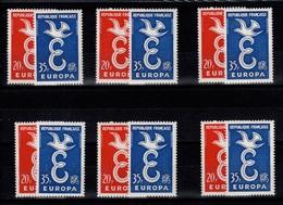 Europa YV 1173 & 1174 N** En 6 Exemplaires - Nuovi