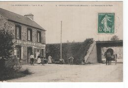 Frankrijk France - La Normandie - La C PA - Orval Hyenville La Descente De La Gare - Eche Vallier Debitant -  1909 - Sin Clasificación