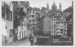 GENOVA GENOA ITALY~QUARTIERE DELLA MARINA PHOTO POSTCARD 48517 - Genova (Genoa)