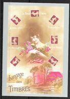 FRANCE Carte Postale Langage Des Timbres. - Listos A Ser Enviados: Otros (1995-...)