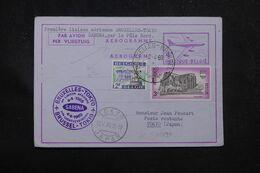 BELGIQUE - Aérogramme Par 1er Vol Bruxelles / Tokyo Par Le Pôle Nord En 1969 - L 70370 - Stamped Stationery