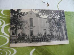 CPA 34  Hérault Servian école Libre De Garçons - Autres Communes