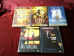 LOT DE 5 DVD    10 EUROS  °°   REF  89 - DVDs