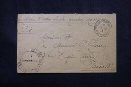 MAROC - Enveloppe En FM De Marrakech En 1918 Pour La France - L 70374 - Lettres & Documents