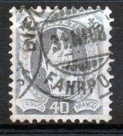 "Mi Nr 91D - ""BIEL - BIENNE - FAHRPOST"" - Cote 70,00 € - (ref. 2581) - Used Stamps"