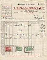 Courtrai - A. Heldenbergh & Co / Fabrique De Matelas - België