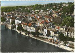 CPSM Grand Format De CORBEIL-ESSONNES (91) – Le Quai Maurice Riquiez. Editions Lapie, St Maur. - Corbeil Essonnes