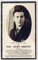 Oorlogsslachtoffer - Julien MALFAIT - Geb. Bavikhove 1924 - Laffelijk Neergeschoten 6 Sept 1944 Leopoldsburg Door SS - Décès