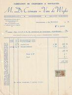 Erembodegem - M. De Cooman - Van De Wehghe / Fabrication De Colifichets - België