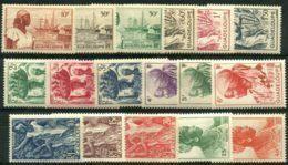 Guadeloupe (1947) N 197 à 213 * (charniere) - Ongebruikt