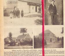 Orig. Knipsel Coupure Magazine - Moord Op Eugène Durand - Chapelle Saint Etienne Tussen Deux Acren & Viane  - 1922 - Alte Papiere