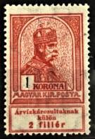 HUNGARY 1913 - MLH - Sc# B15 - 1K - Gebruikt