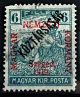 HUNGARY 1919 - MLH - Sc# 11N23 - 6f - Ongebruikt
