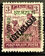 HUNGARY 1919 - MLH - Sc# 11N20 - 3f - Ongebruikt