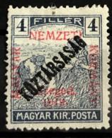 HUNGARY 1919 - MLH - Sc# 11N21 - 4f - Ongebruikt