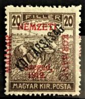 HUNGARY 1919 - MLH - Sc# 11N28 - 20f - Ongebruikt