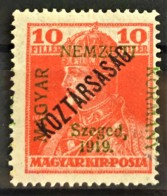 HUNGARY 1919 - MLH - Sc# 11N24 - 10f - Ongebruikt