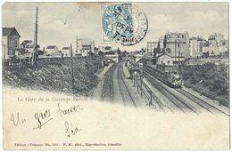 Précurseur De La Gare De LA GARENNE-BEZONS (92). Train. Edition Trianon, N° 1451. - La Garenne Colombes