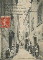 Pub Magasin Au Bon Marché  Tourniquet Carte Postale . Cartophilie . Deltiology. BEAUCLAR Rébus . Aniane - Tiendas