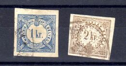Hongrie 1868, Timbre Taxe Pour Journaux, TX 1 / 2 Ob, Cote 38 € - Newspapers