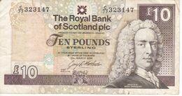 BILLETE DE ESCOCIA DE 10 POUNDS DEL AÑO 1994  (BANKNOTE) - 10 Pounds