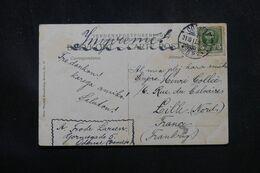 DANEMARK - Affranchissement De Odense Sur Carte Postale Pour La France En 1911 , écrite En Espéranto - L 70406 - Briefe U. Dokumente